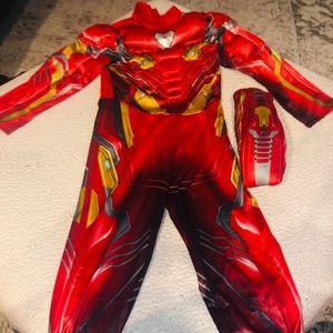 Original Disney store costume Iron Man